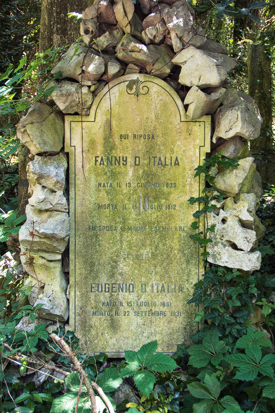 D'Italia Fanny / Eugenio - 15. Juli 1912 / 22. September 1931