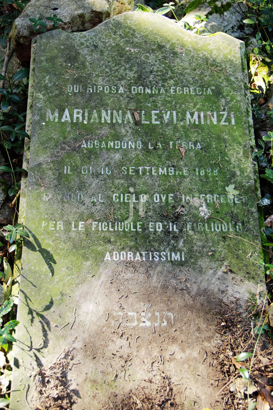 Levi Minzi Marianna - 16. September 1888