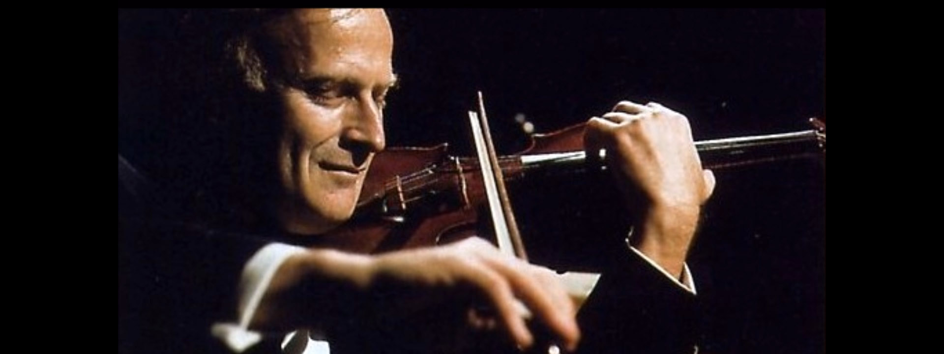 Screenshot Youtube-Video Yehudi Menuhin