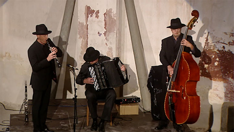 Gruppe Klezmer Connection in der Synagoge Kobersdorf
