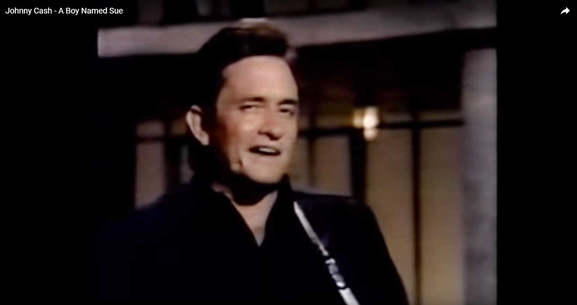 Shortcut Youtube-Video Johnny Cash