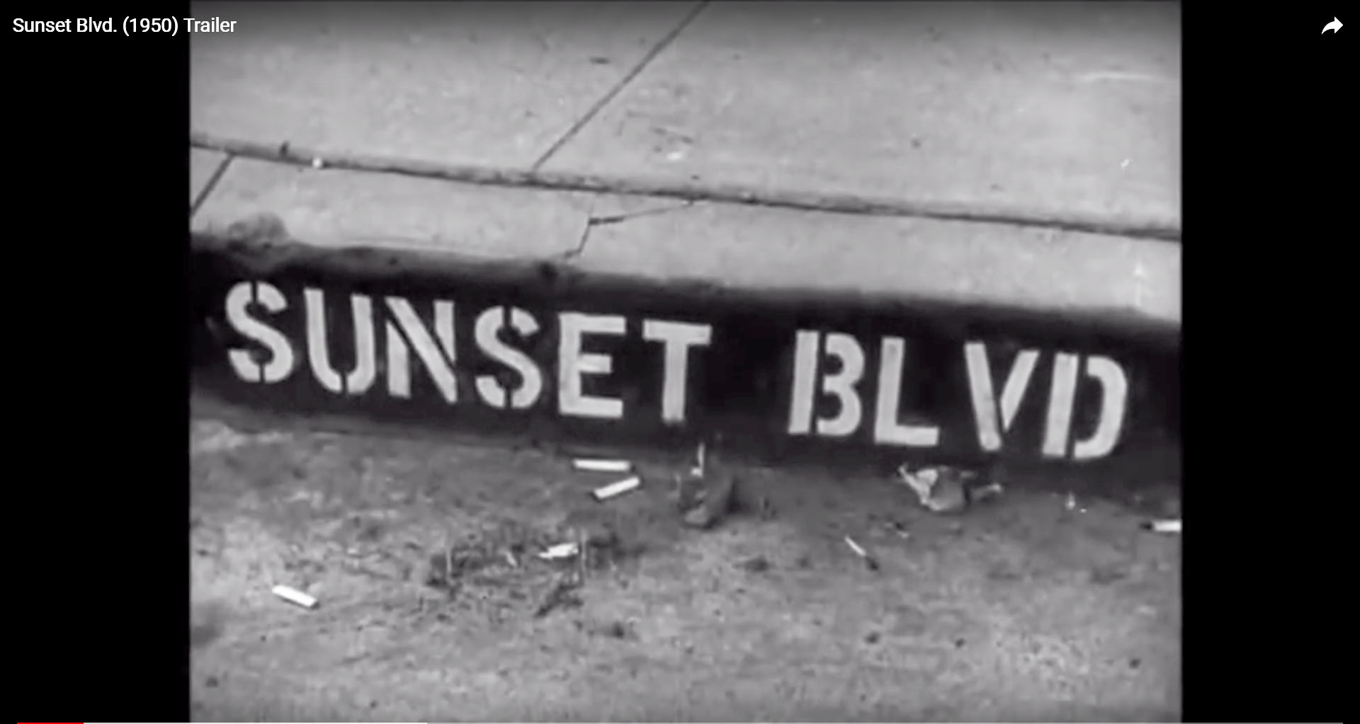Shortcut Youtube-Video 'Sunset Boulevard'