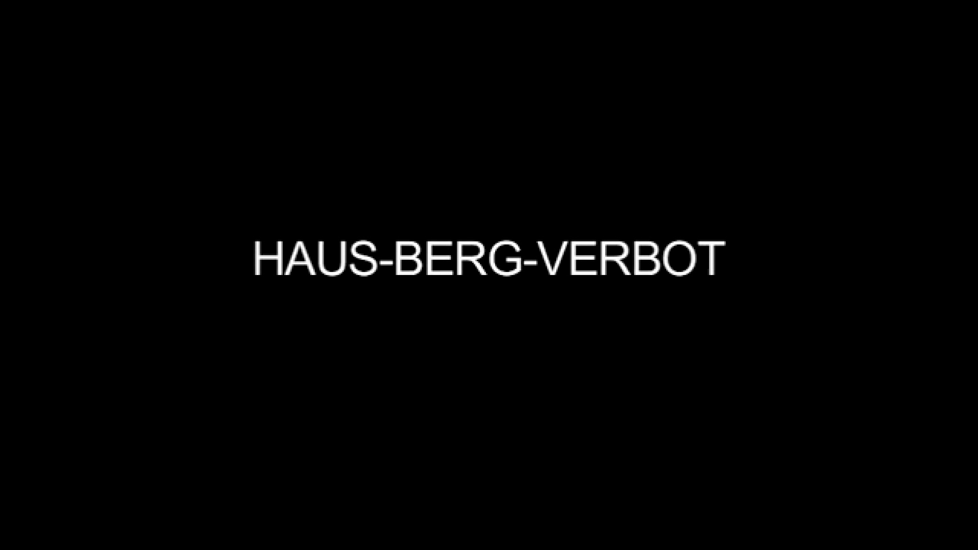 Screenshot Vimeo-Video Hausberg-Verbot