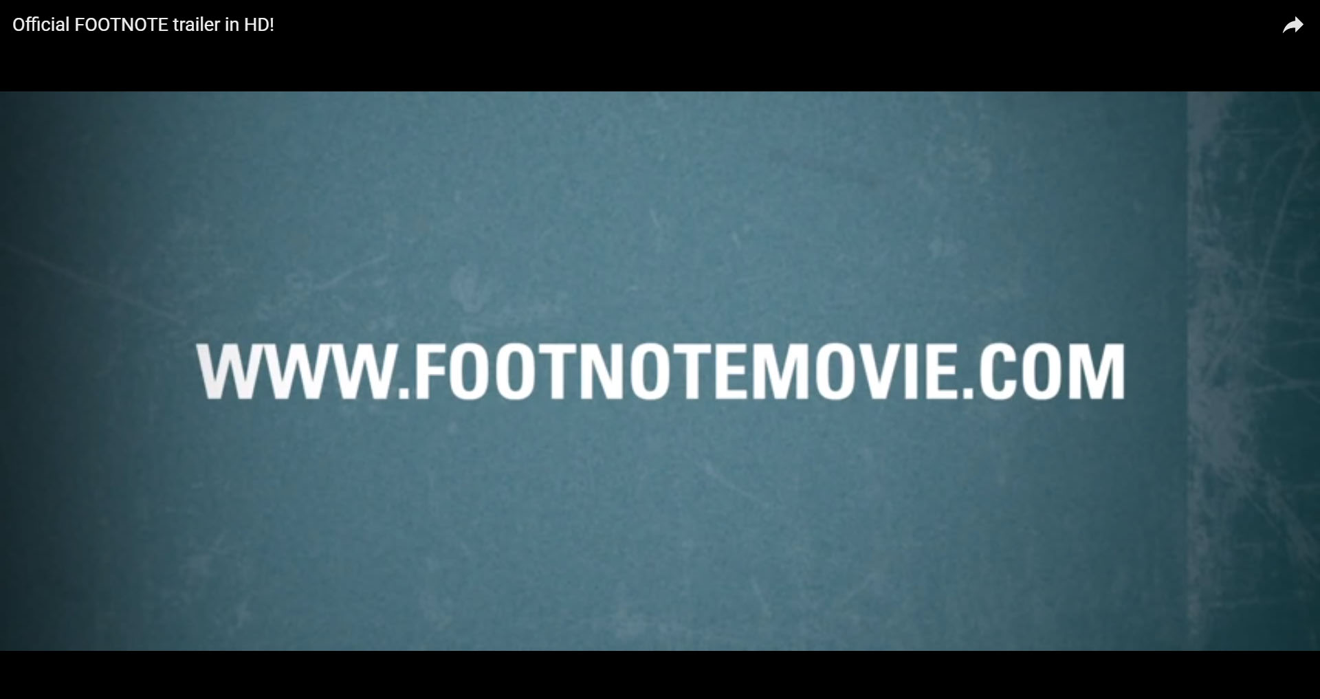 Shortcut Youtube-Video 'footnote'
